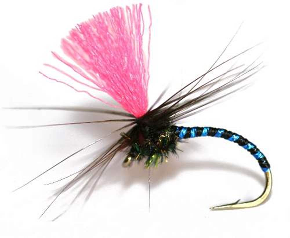 Black Magic Blue Rib Trout / Grayling Flies