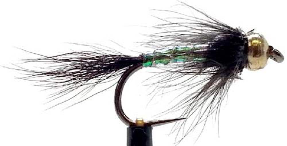 Barbless Bead Head Black Twinkle