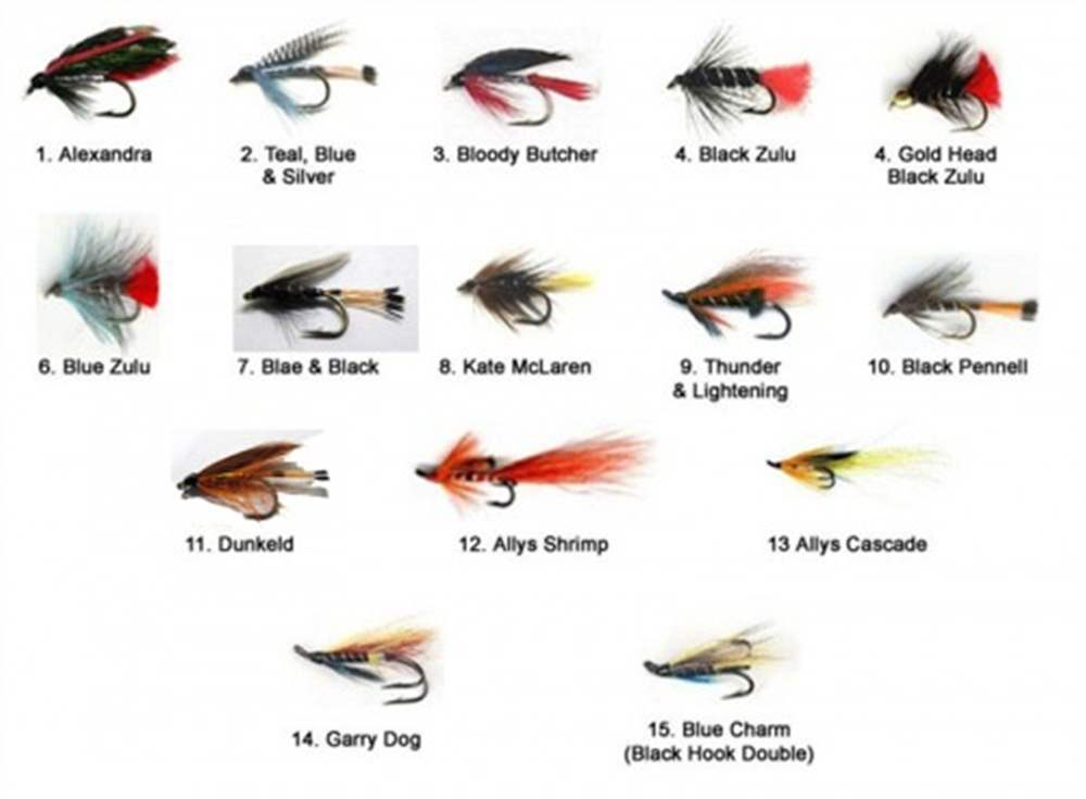 Starter Sea Trout Fly Selection