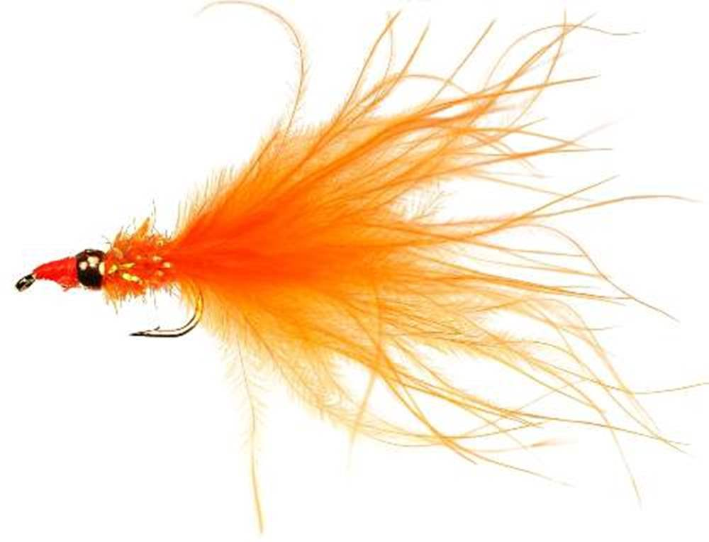 Cjs Fritz Tungsten Bead Nomad Orange Lure/Streamer