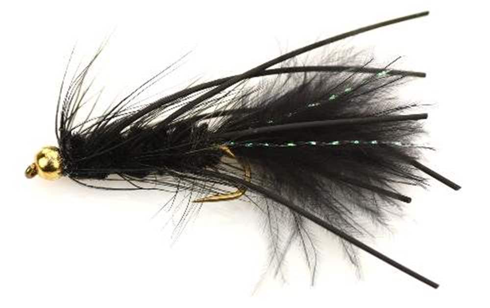 Bead Head (BH) Black Woolly Leg Bugger