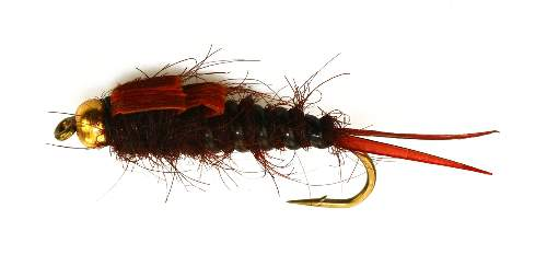 Bead Head (BH) Brown Stonefly