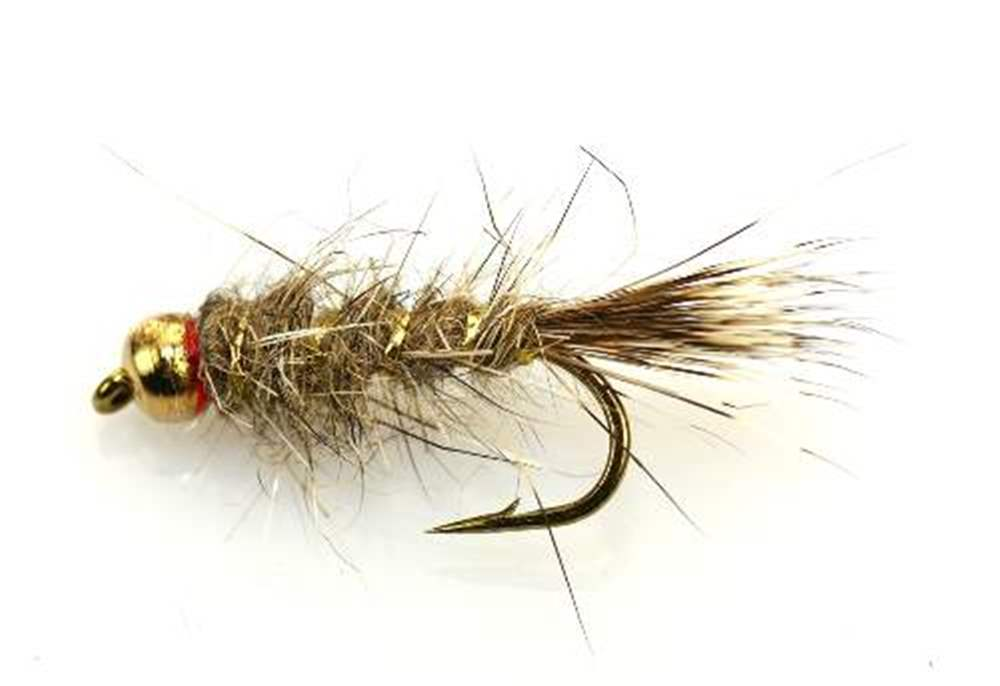 Bead Head (BH) Gold Ribbed Hare's Ear GRHE