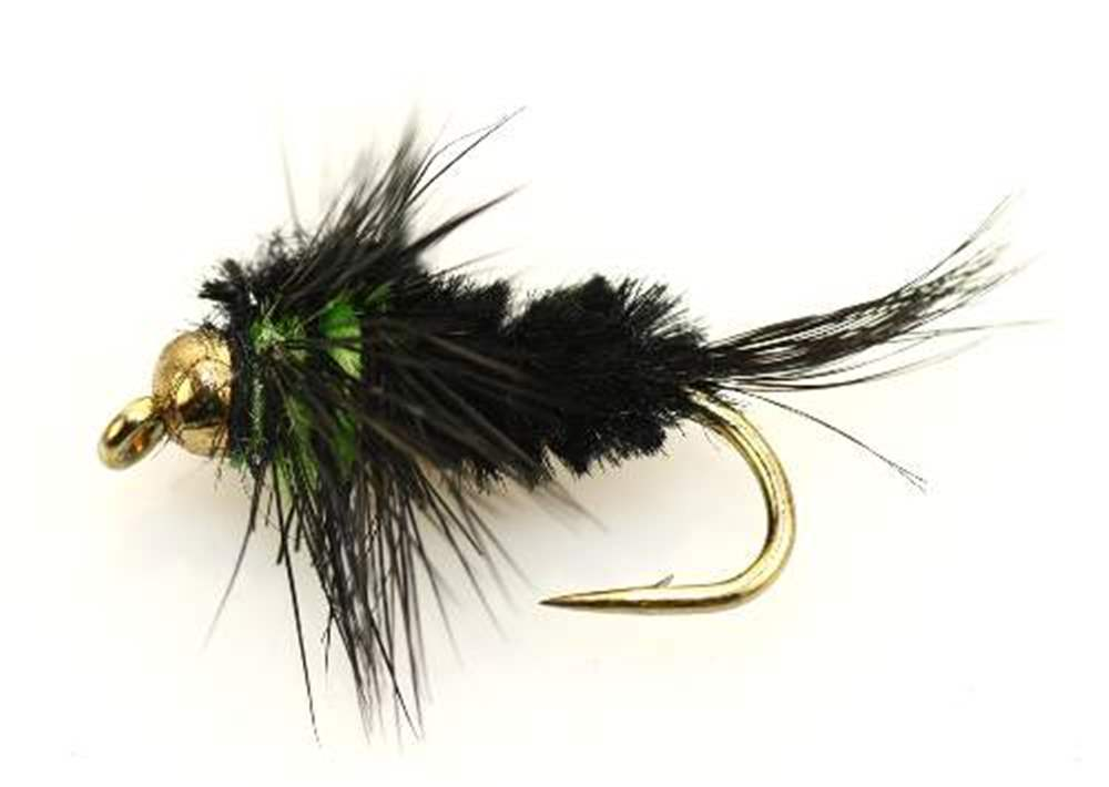 Bead Head Green Montana Short Shank