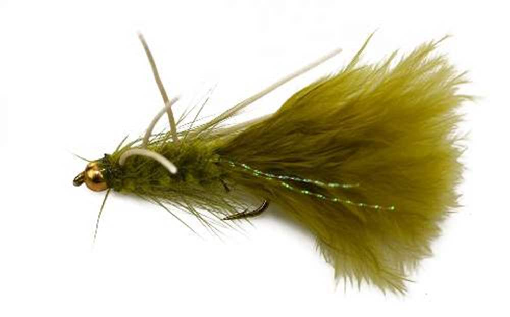 Bead Head (BH) Olive Woolly Leg Bugger