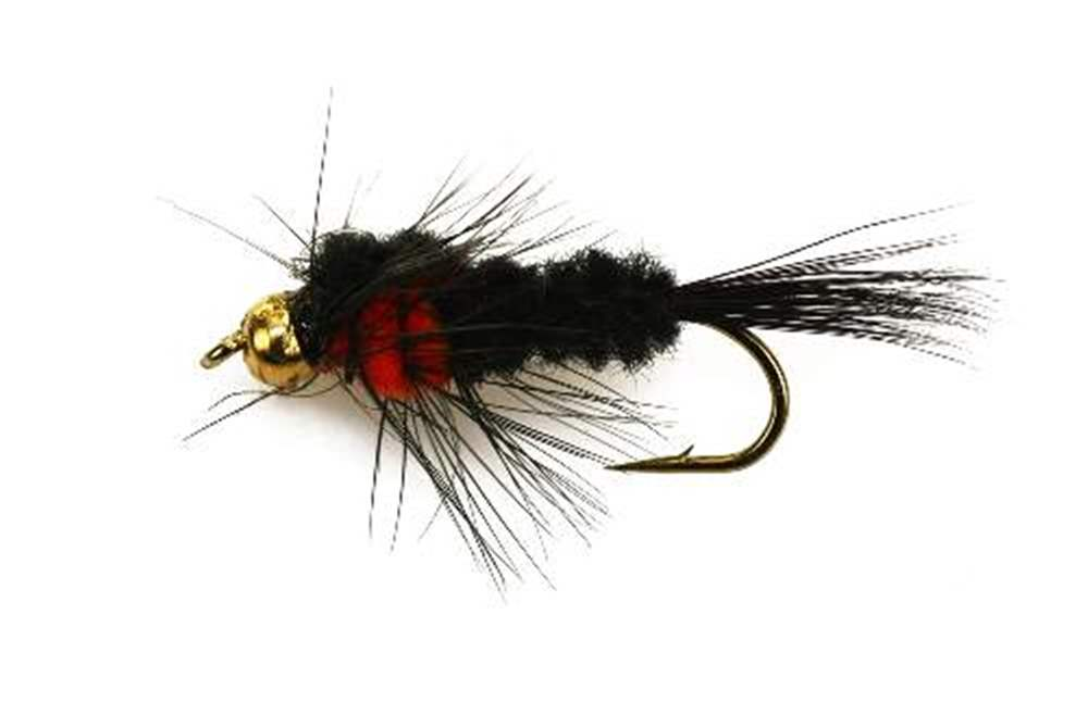 Bead Head (BH) Orange Montana Short Shank Hook