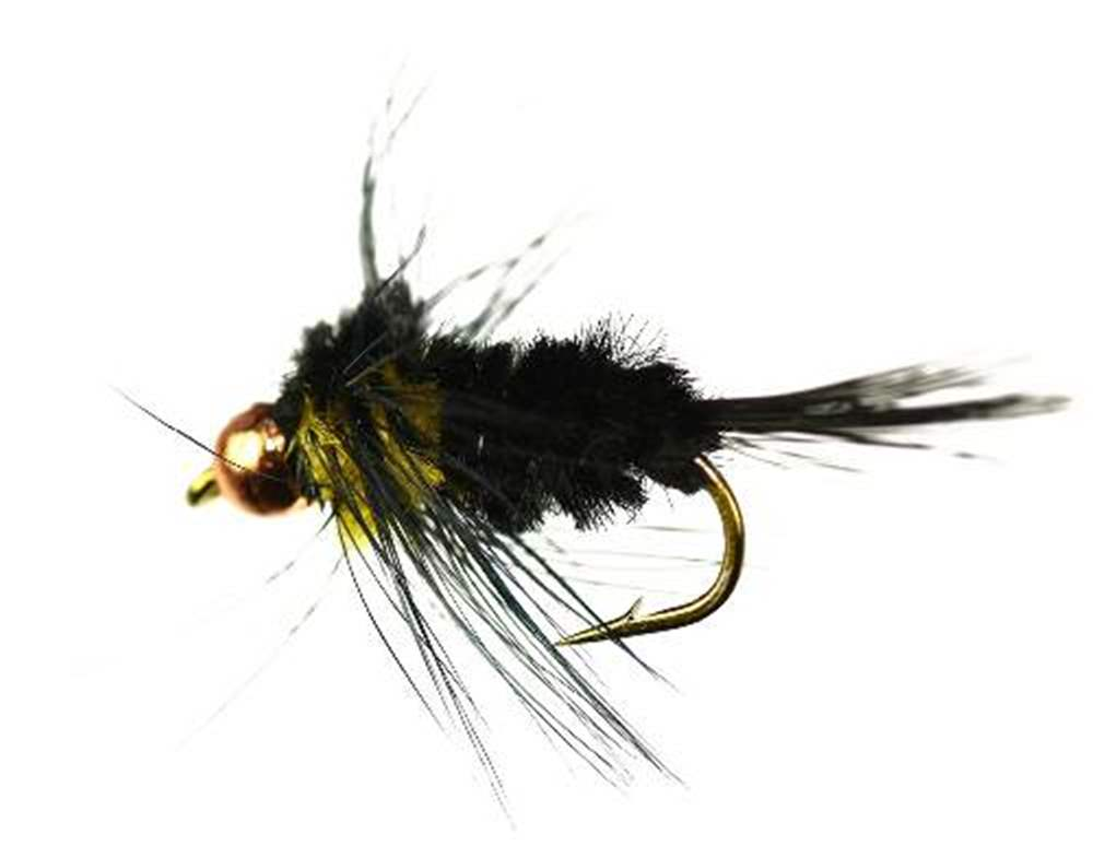 Tungsten Bead Head  Yellow Montana