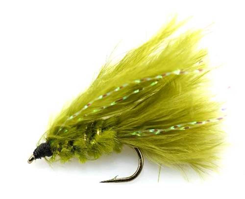 Olive Cats Whisker Mini Lure