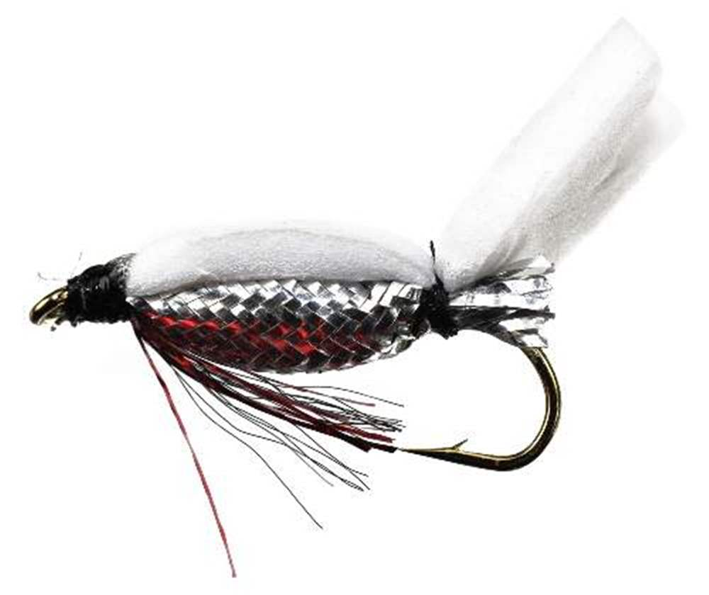 Floating Foam Fry Special (Silver Body Red Flash)
