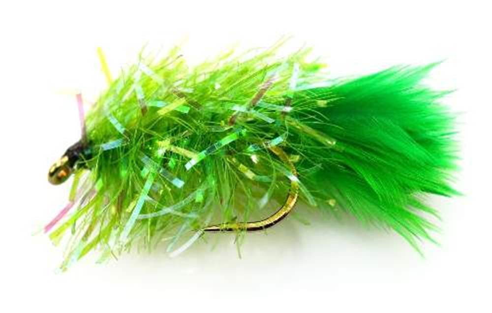 Green Blob Trout Fly - Andys Variant
