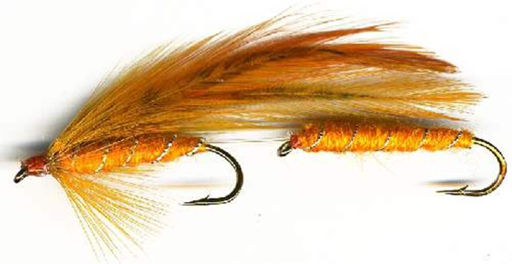 Orange Tandem Lure