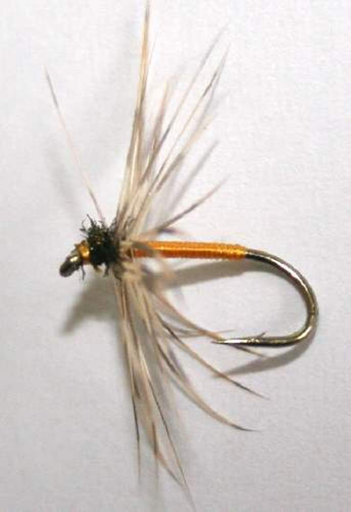 Winter Brown Northern Spider Trout Fly