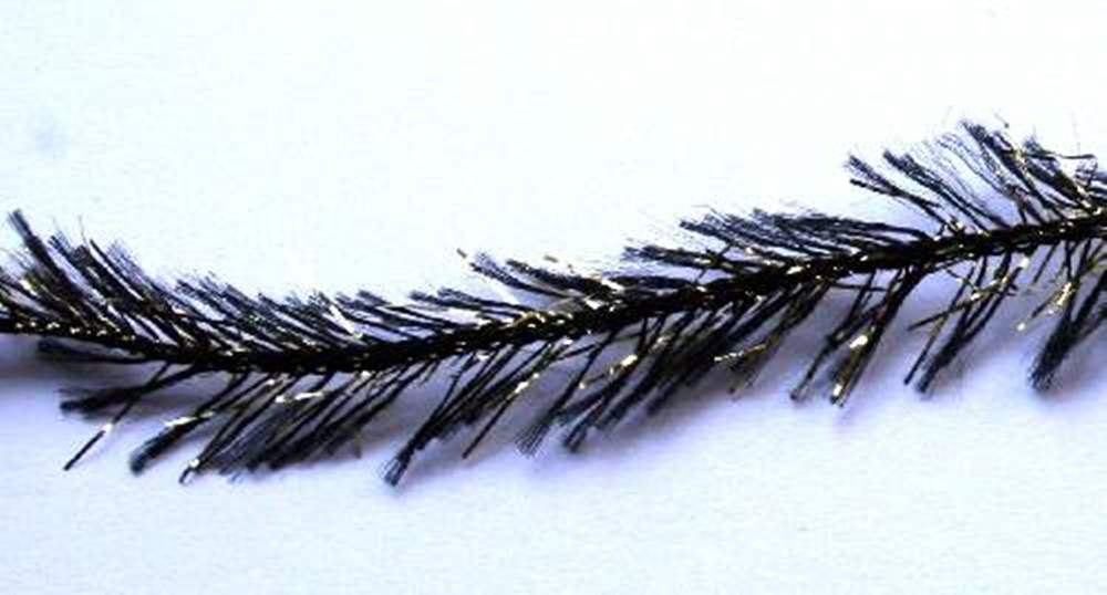 Hackle Magic 8Mm White & Gold