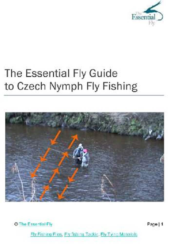 Czech Nymphing Fly Fishing Instruction Booklet