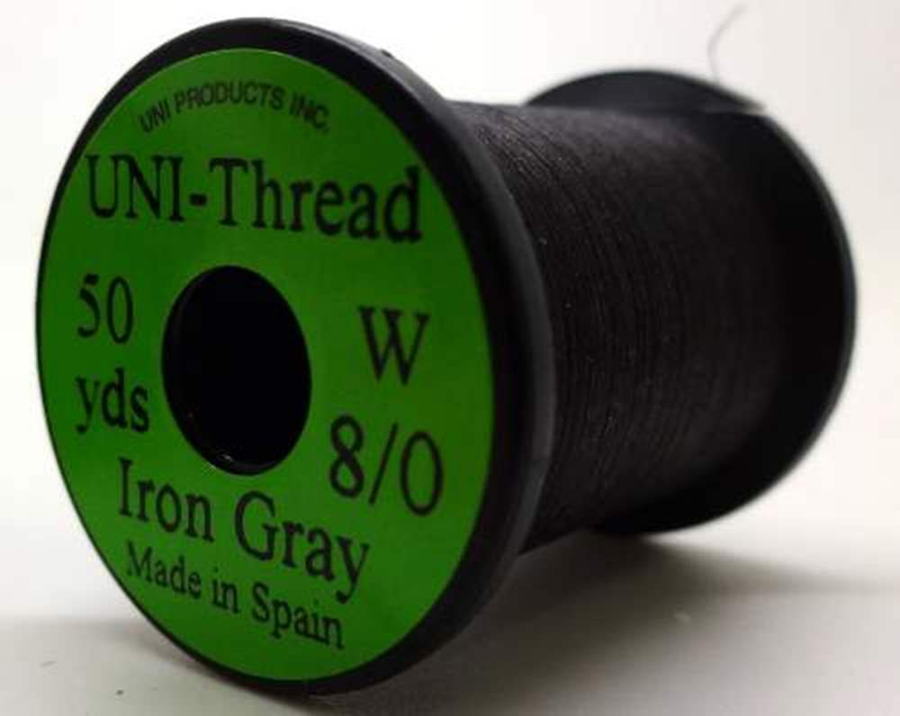 Uni Pre Waxed Thread 6/0 200Y Iron Grey