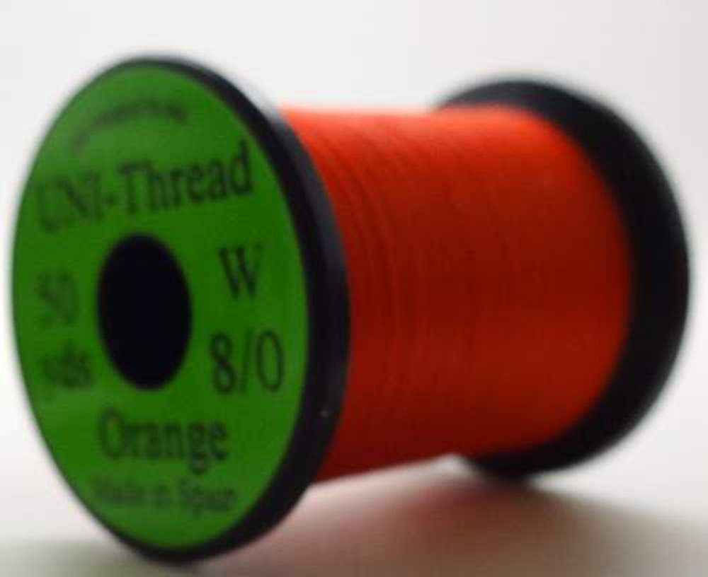 Uni Pre Waxed Thread 6/0 50Y Orange