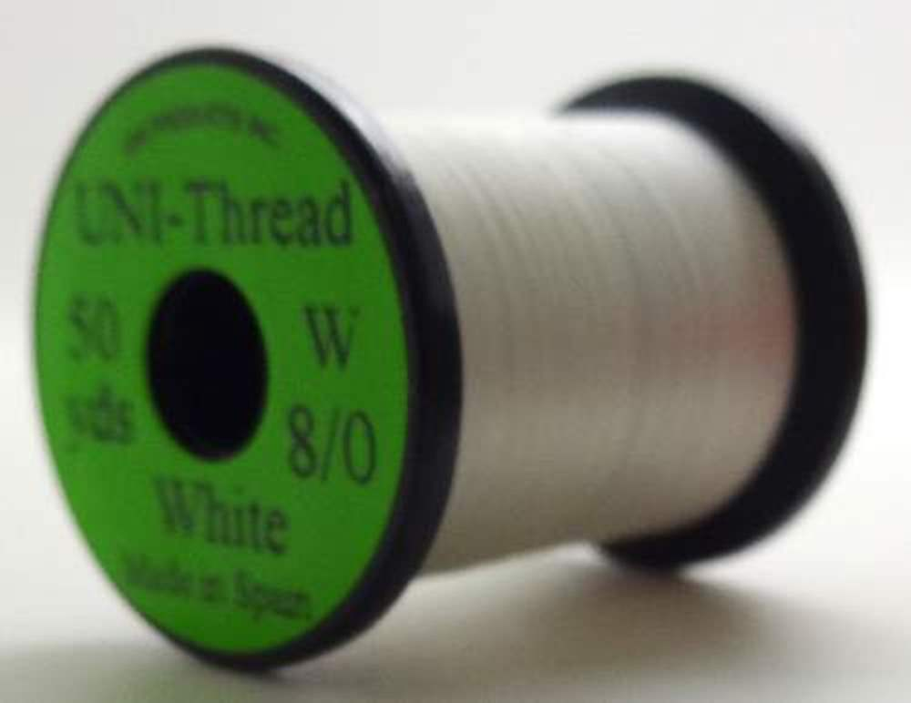Uni Pre Waxed Thread 6/0 200Y White