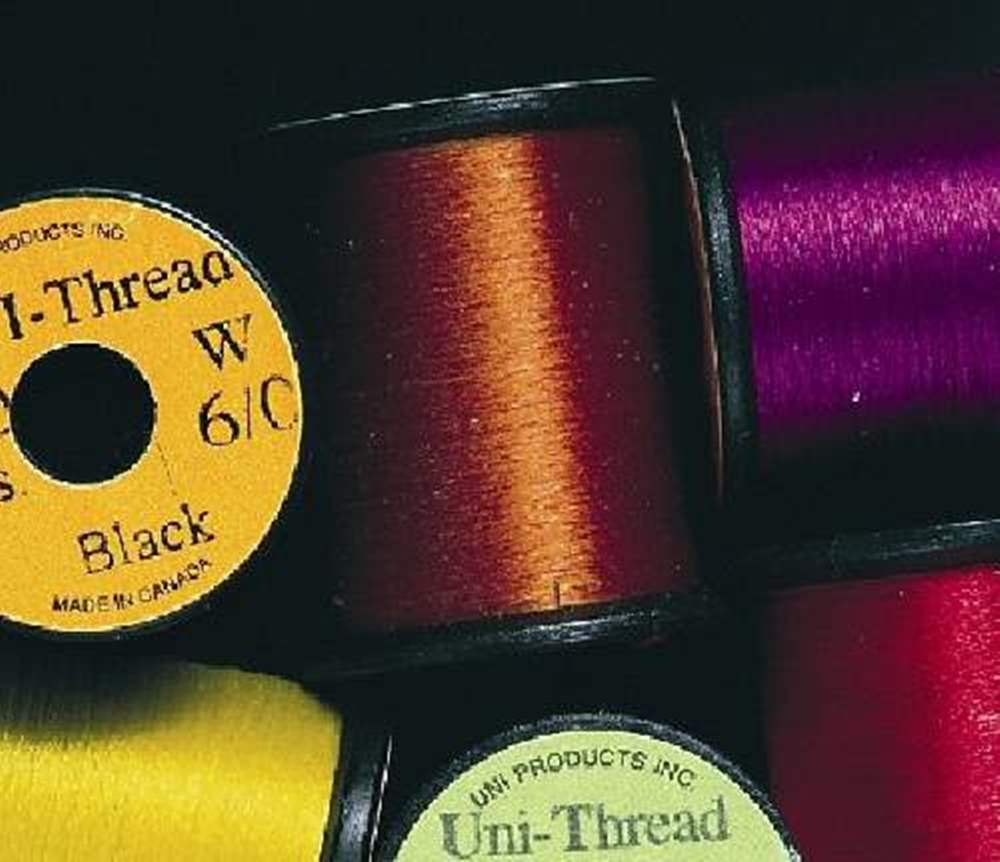 Uni Pre Waxed Thread 6/0 50Y Light Blue