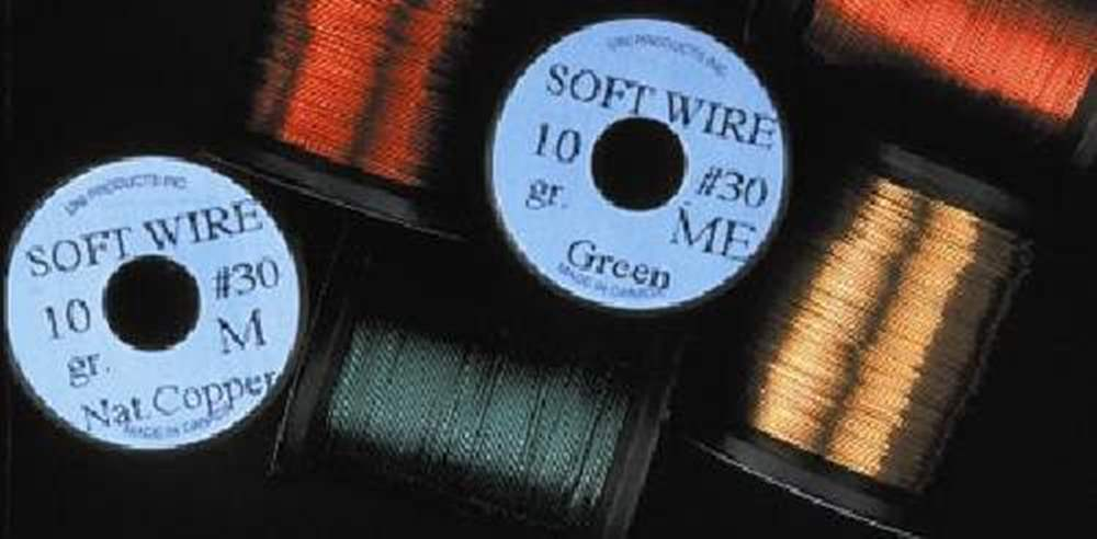 Uni Soft Copper Wire Fine 0.2mm Green