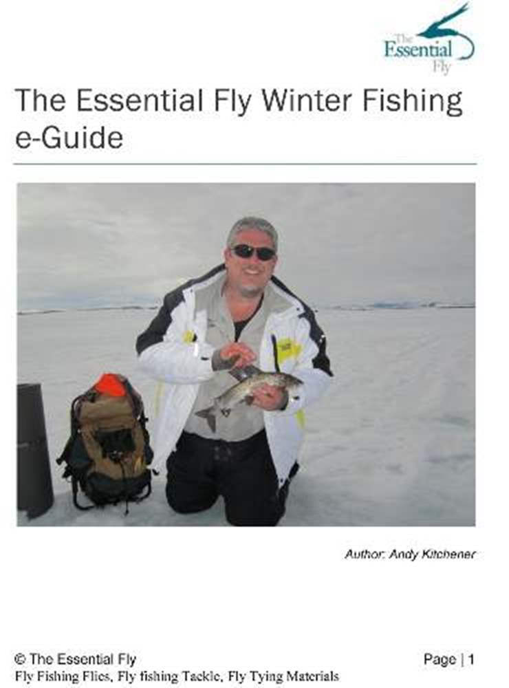 Winter Fishing Guide 41 Page E-Guide (Downloadable)
