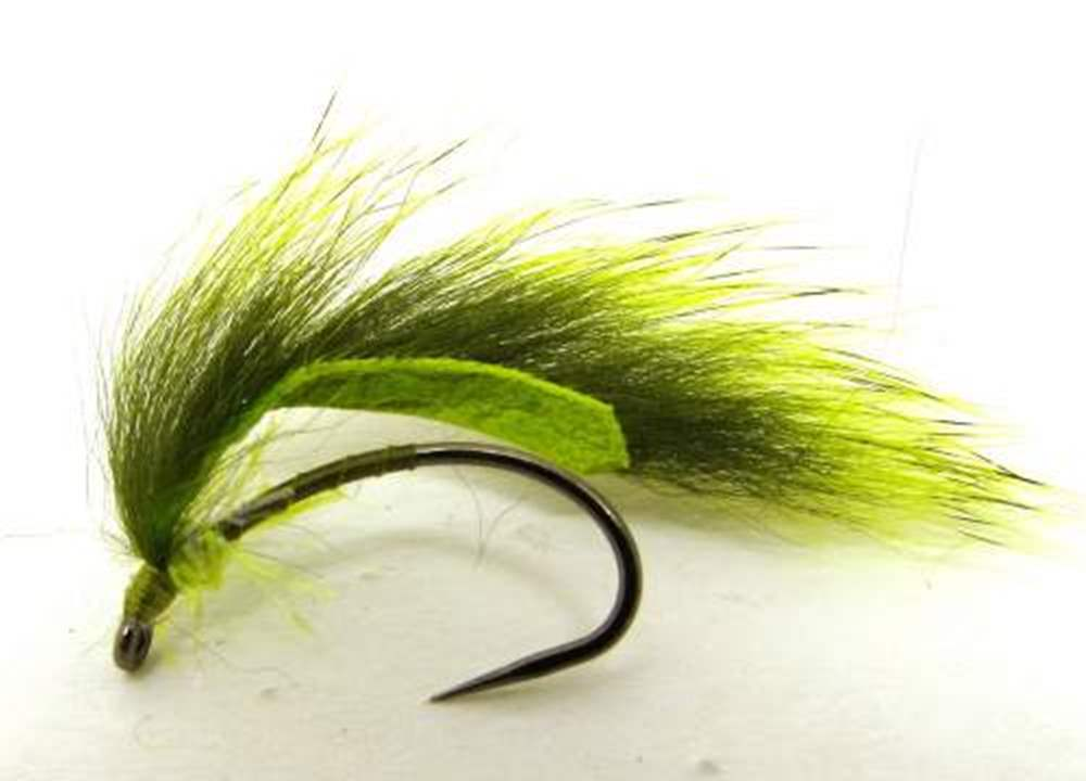 Barbless Marsden Mohican Olive & Green Chartreuse Wing