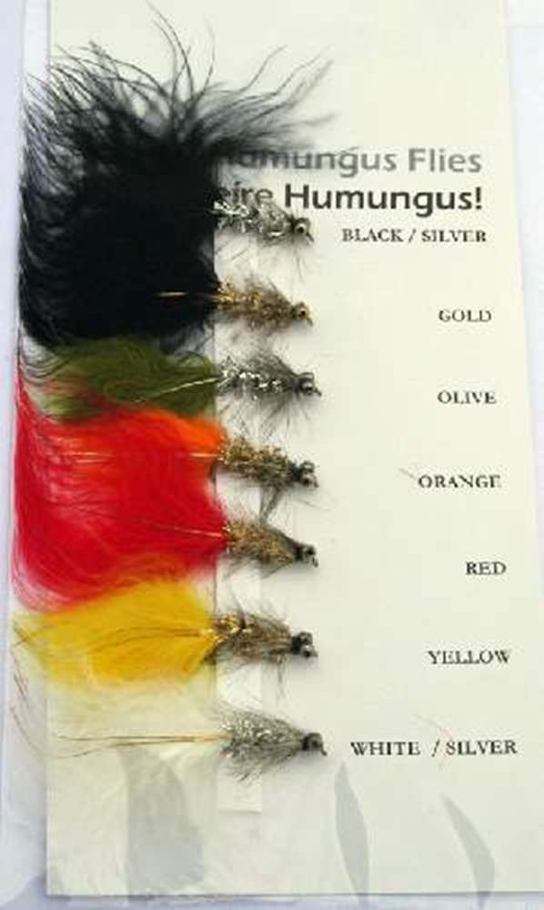 Humungus Trout Lure Bundle - 7 Humungus Flies