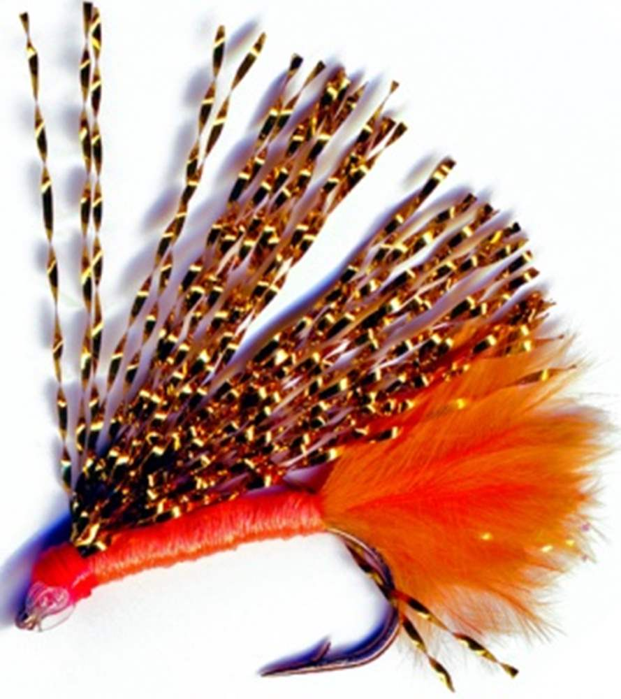 Orange Flash Mini Lure