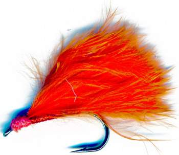 Orange Hot Tail Mini Lure