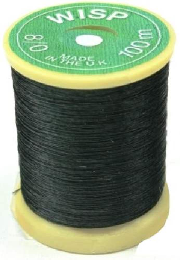 Gordon Griffiths Wisp Microfine Thread Black Single Spool