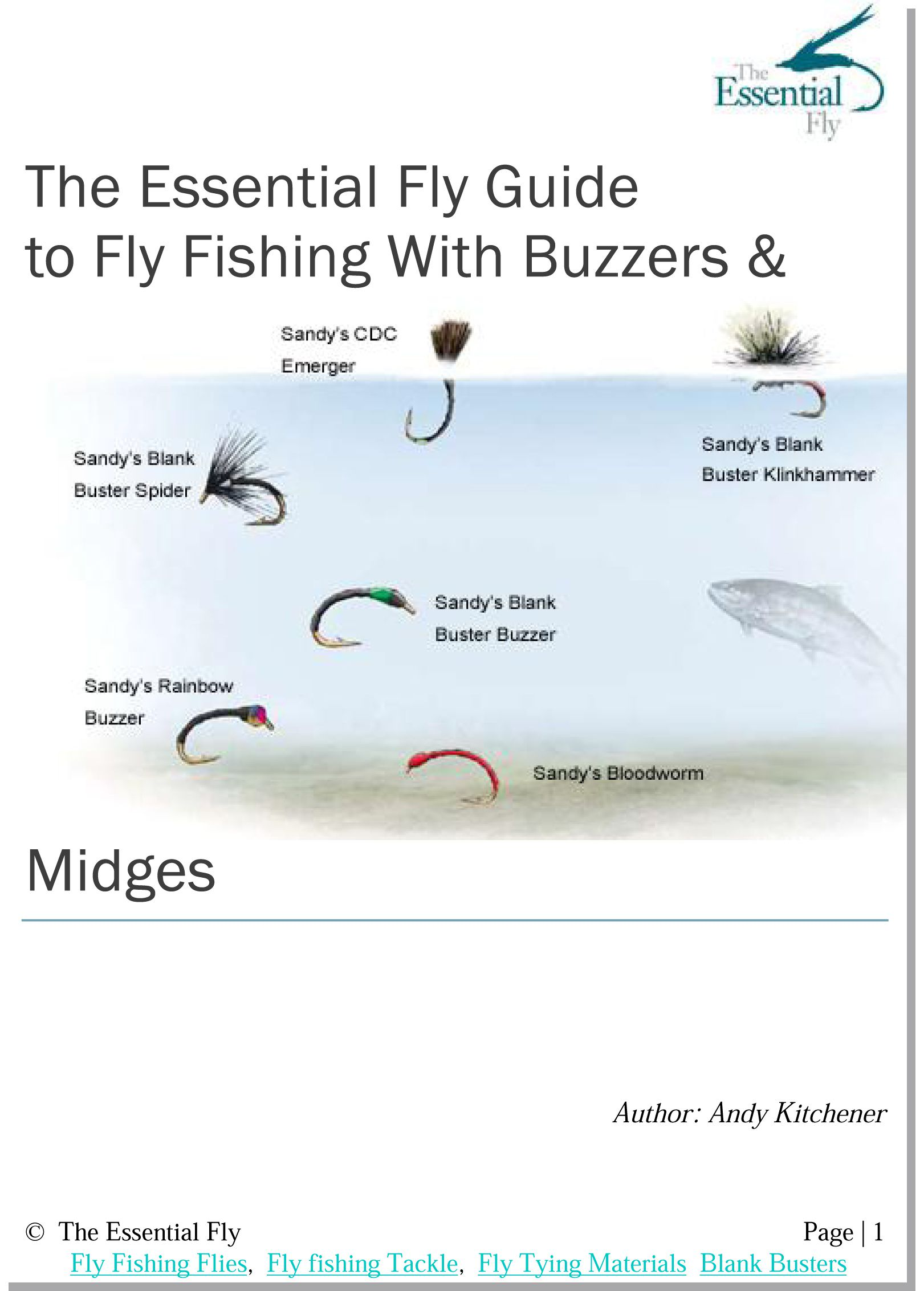 guide to trout fly fishing with buzzers & midges e-booklet | the, Fly Fishing Bait