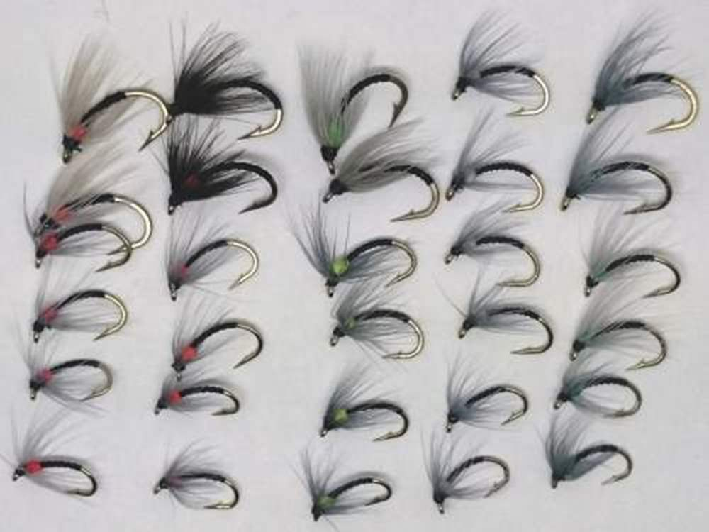 Sandys Blank Buster Spiders 30 Fly Selection