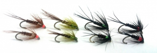 Blank Buster Trout Cruncher Fly Pattern Selection