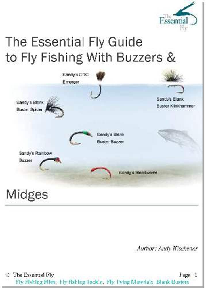 The Essential Fly Guide  to Fly Fishing With Buzzers & Midges Booklet