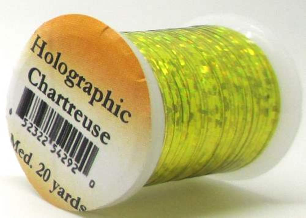 Holographic Tinsel Small #2 Chartreuse