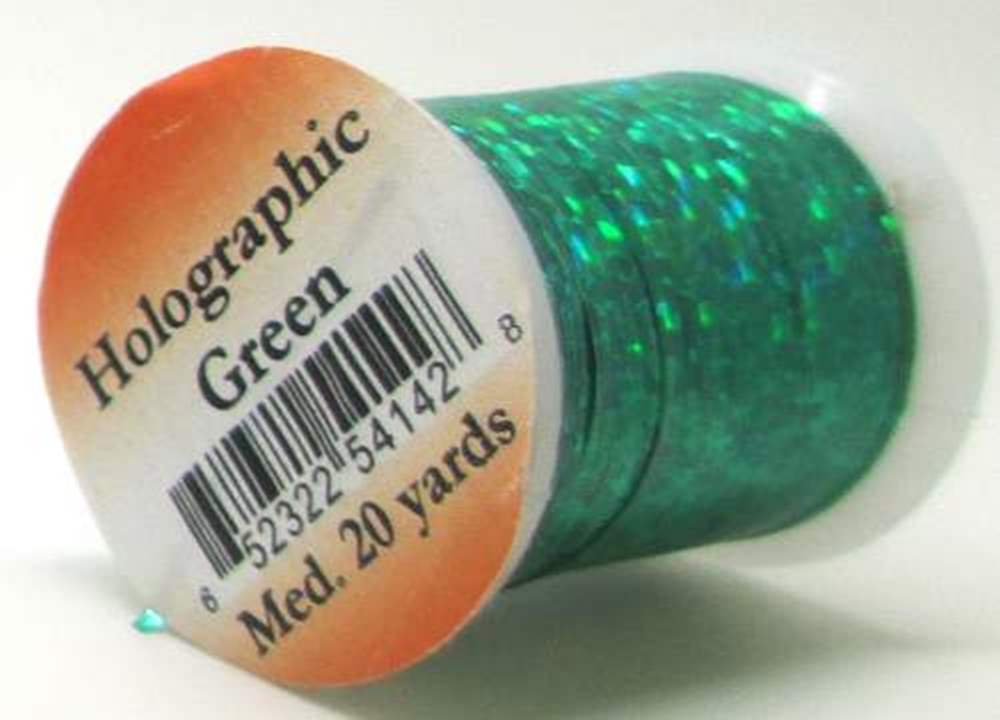 Holographic Tinsel Green Single Spool Large No.7
