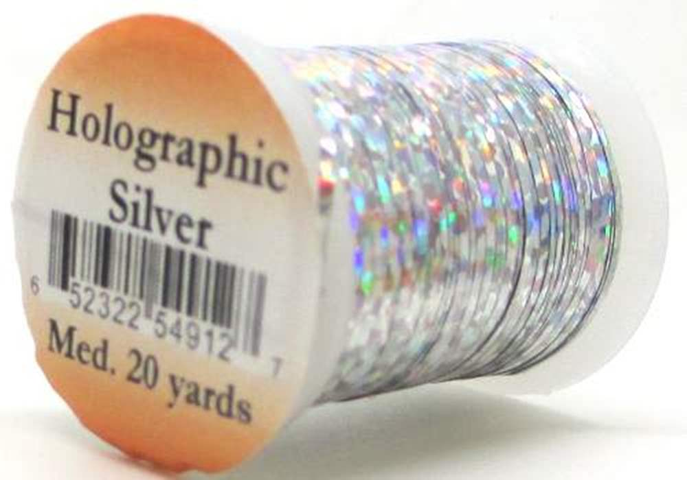Holographic Tinsel Medium #4 Silver