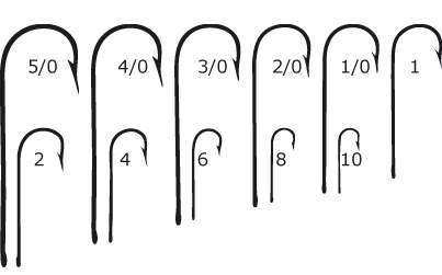 Saltwater Hook Sizes