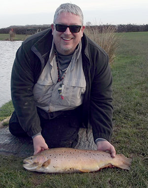 Andy & 14lb Brown Trout