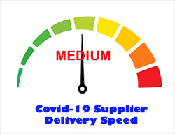 Medium Deliveries From Supplier - Weekly