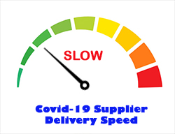 Slow Deliveries From Supplier - Fortnightly