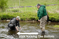 Kick Sampling When Fly Fishing