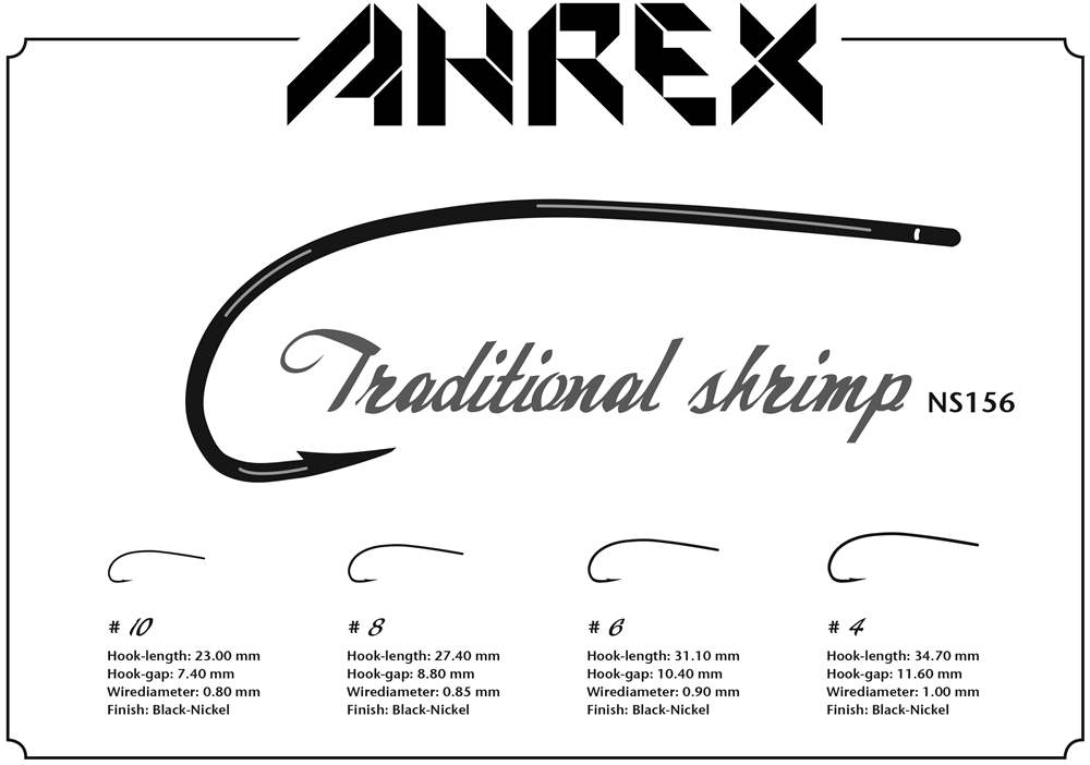 Ahrex NS156 - Traditional Shrimp #10