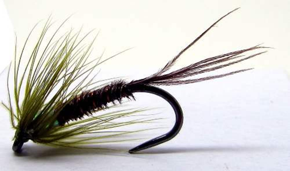 Barbless Pearly Olive Blank Buster Cruncher
