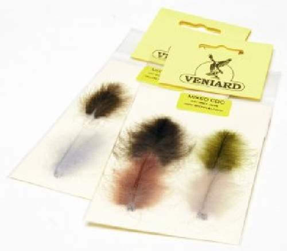 Veniard - CDC Super Select Combo Pack - #1 - Fiery Brown, Light Dun, Natural Grey & Olive