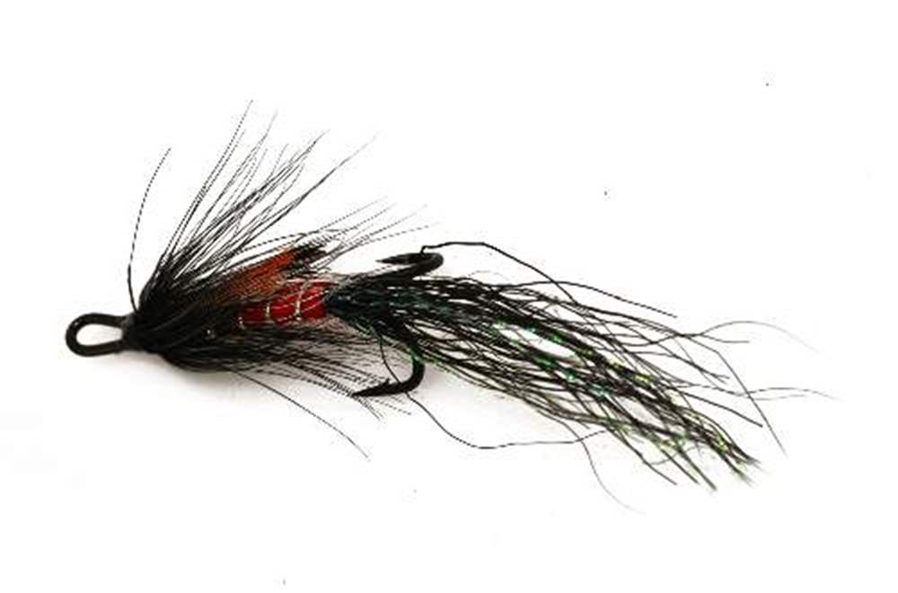 Allys Shrimp Black (Double Hook)