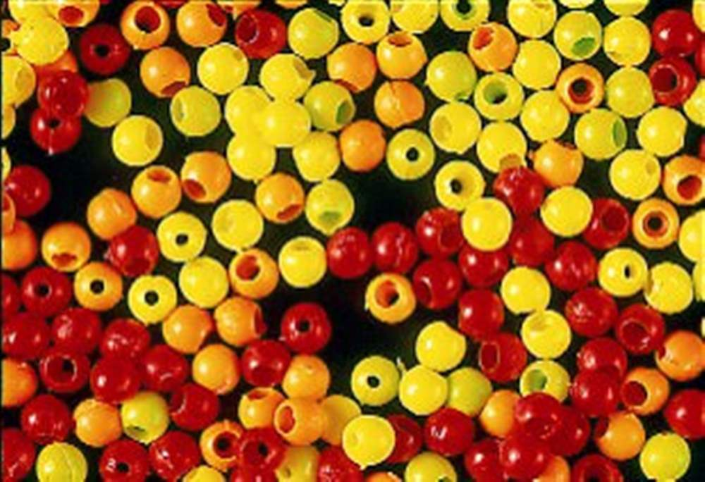 Firefly - Hot Head Beads - 3mm - Fl. Yellow