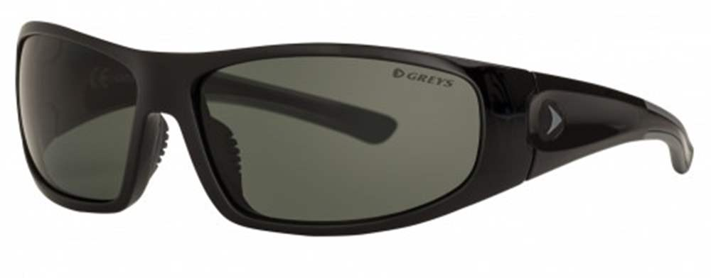 Greys G1 Sunglasses (Gloss Black/Green/Grey)
