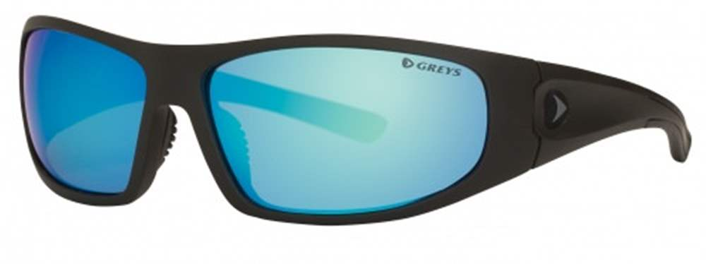 Greys G1 Sunglasses (Matt Carbon/Blue Mirror)