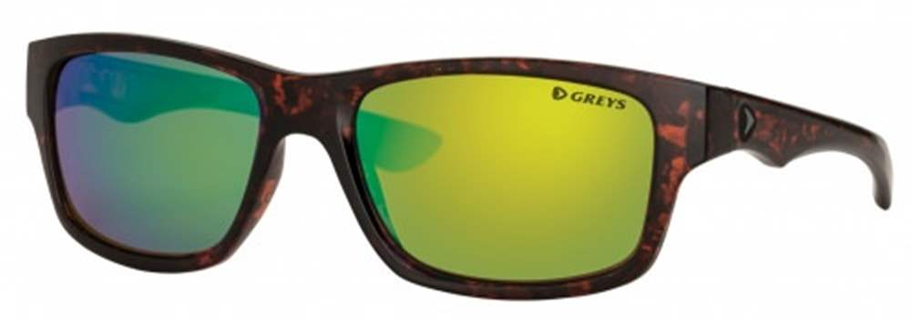 Greys G4 Sunglasses (Gloss Tortoise/Green Mirror)
