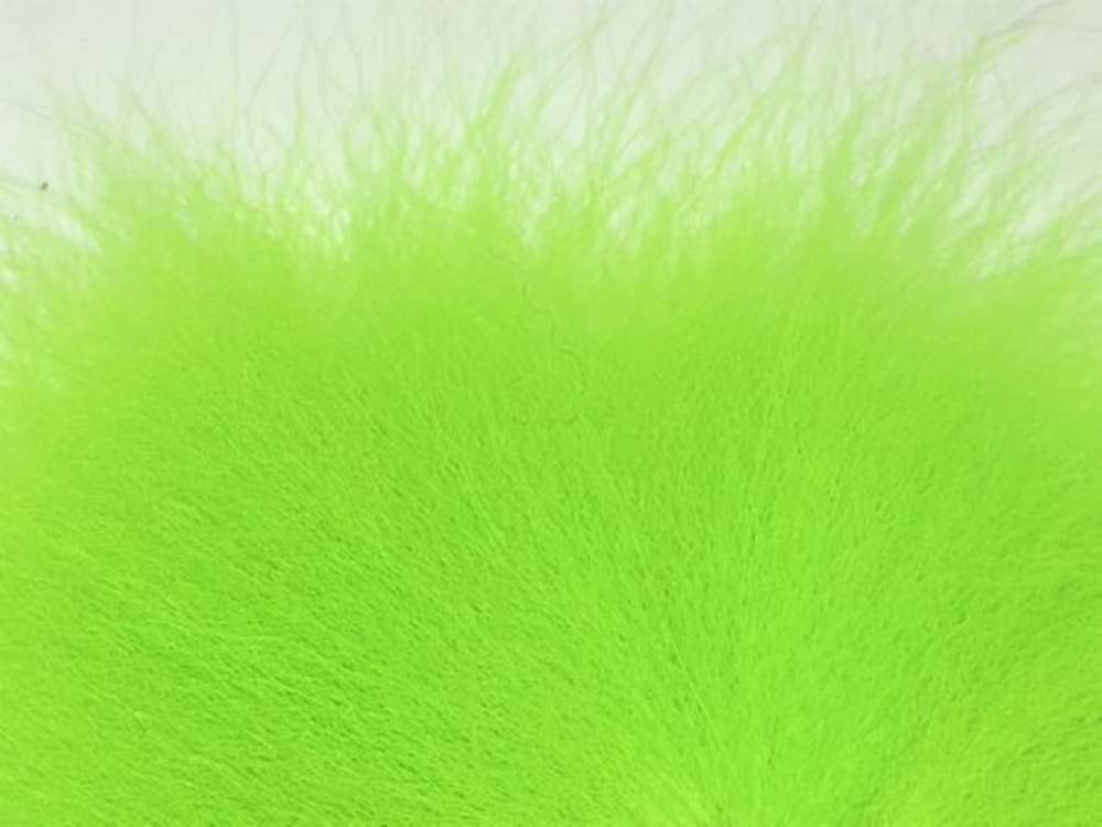 Arctic Fisherman - Blue Fox - Chartreuse Green